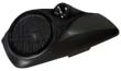 HARLEY SPEAKER LIDS TWISTED 8 LIDS Fits 2014 to Current